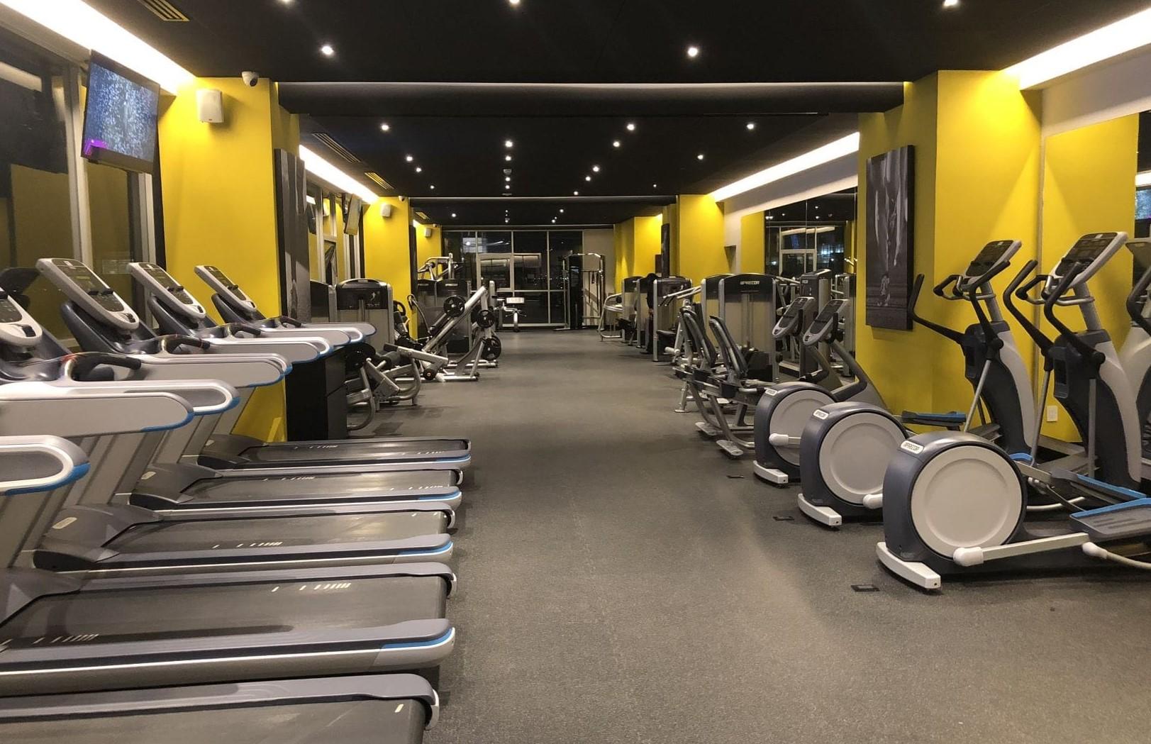 Departamento en venta en City Towers Park Grand, Colonia Xoco, Benito Juárez, CDMX. Gym aerobico.