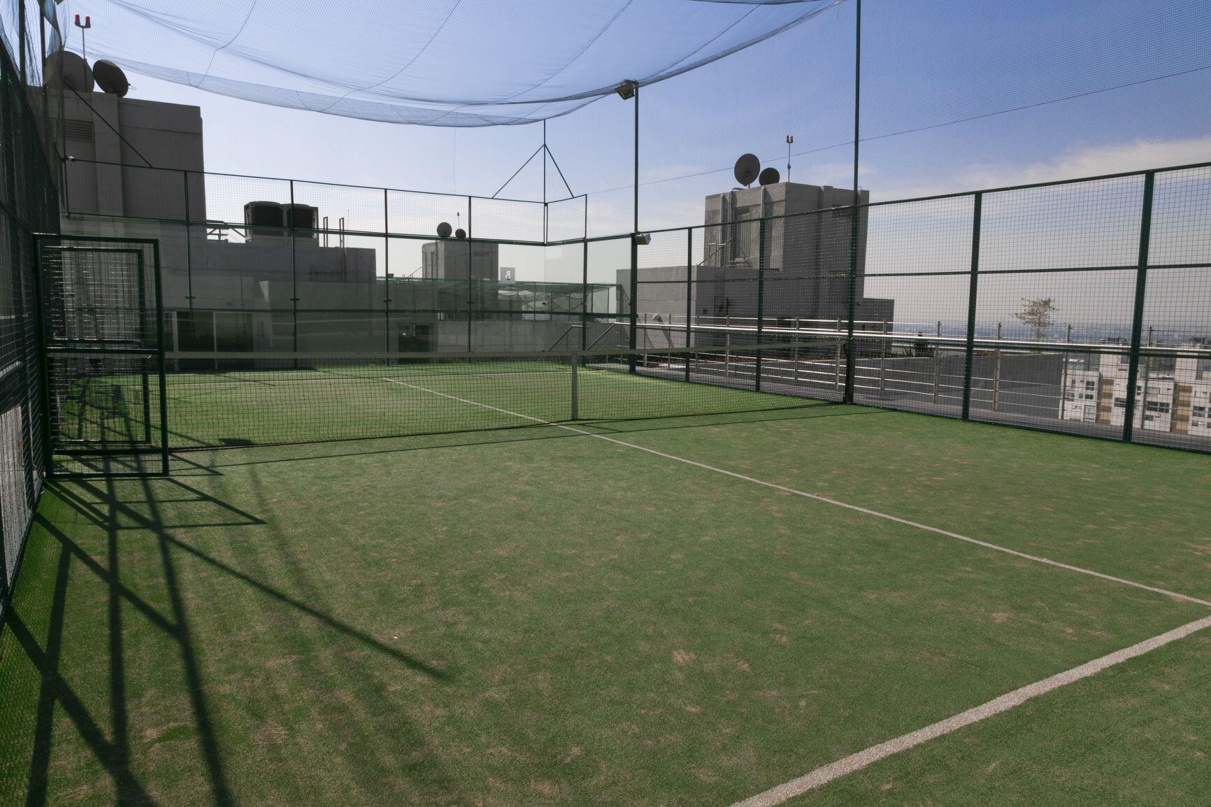 Departamento en venta en City Towers Park Grand, Colonia Xoco, Benito Juárez, CDMX. Cancha de Padel.