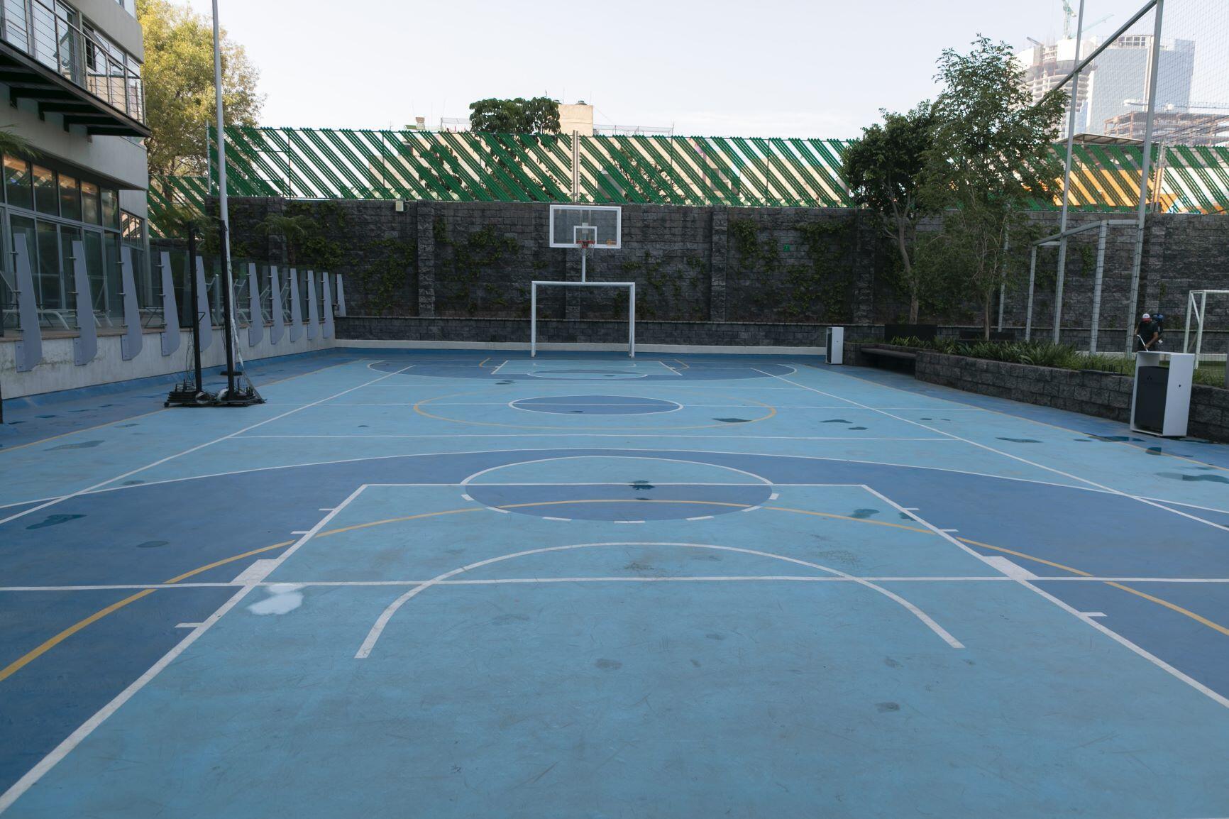 Departamento en venta en City Towers Park Grand, Colonia Xoco, Benito Juárez, CDMX. Cancha basquet