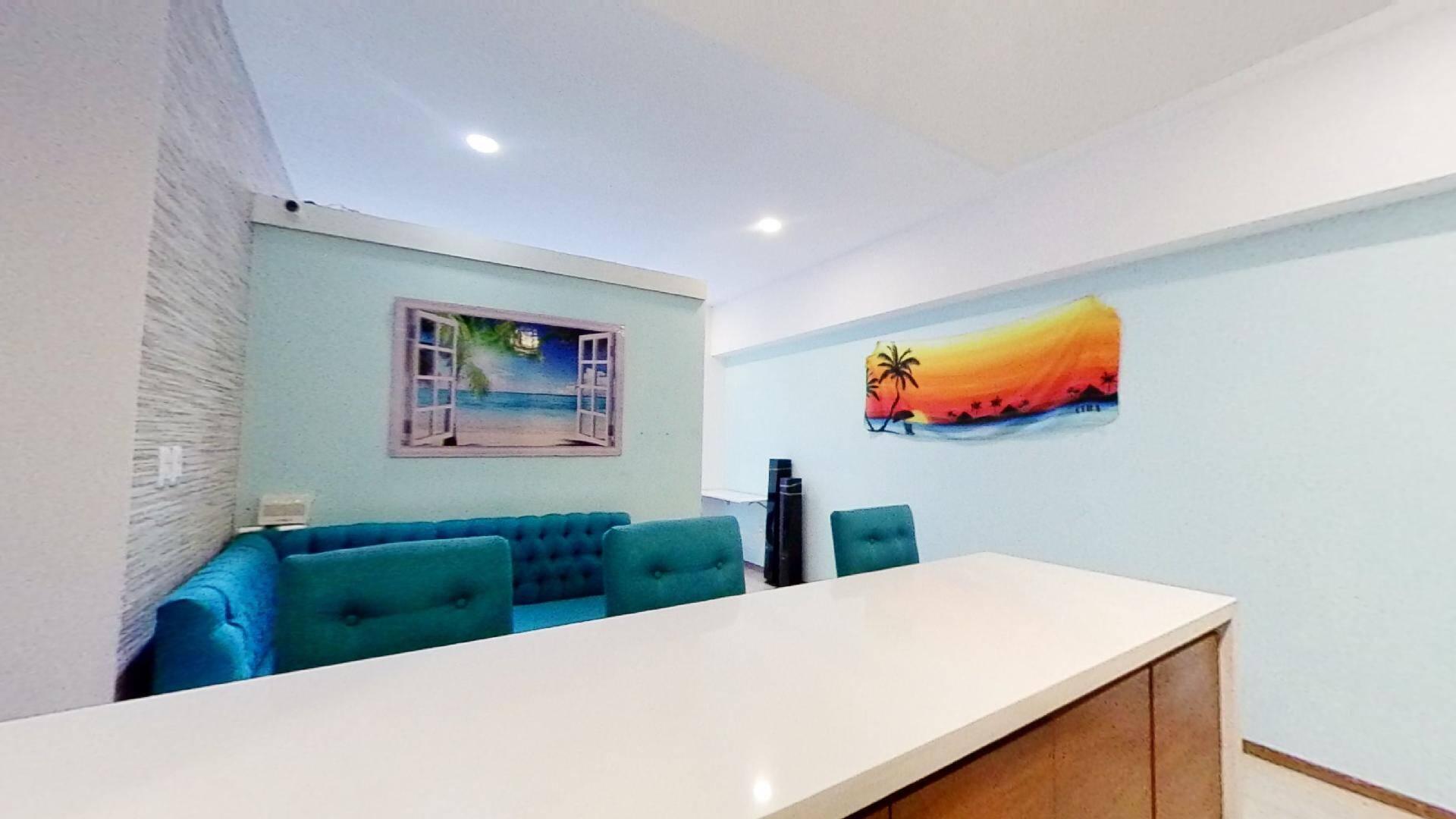 Venta departamento de 3 recámaras en City Towers Green, Colonia Santa Cruz.  Cocina
