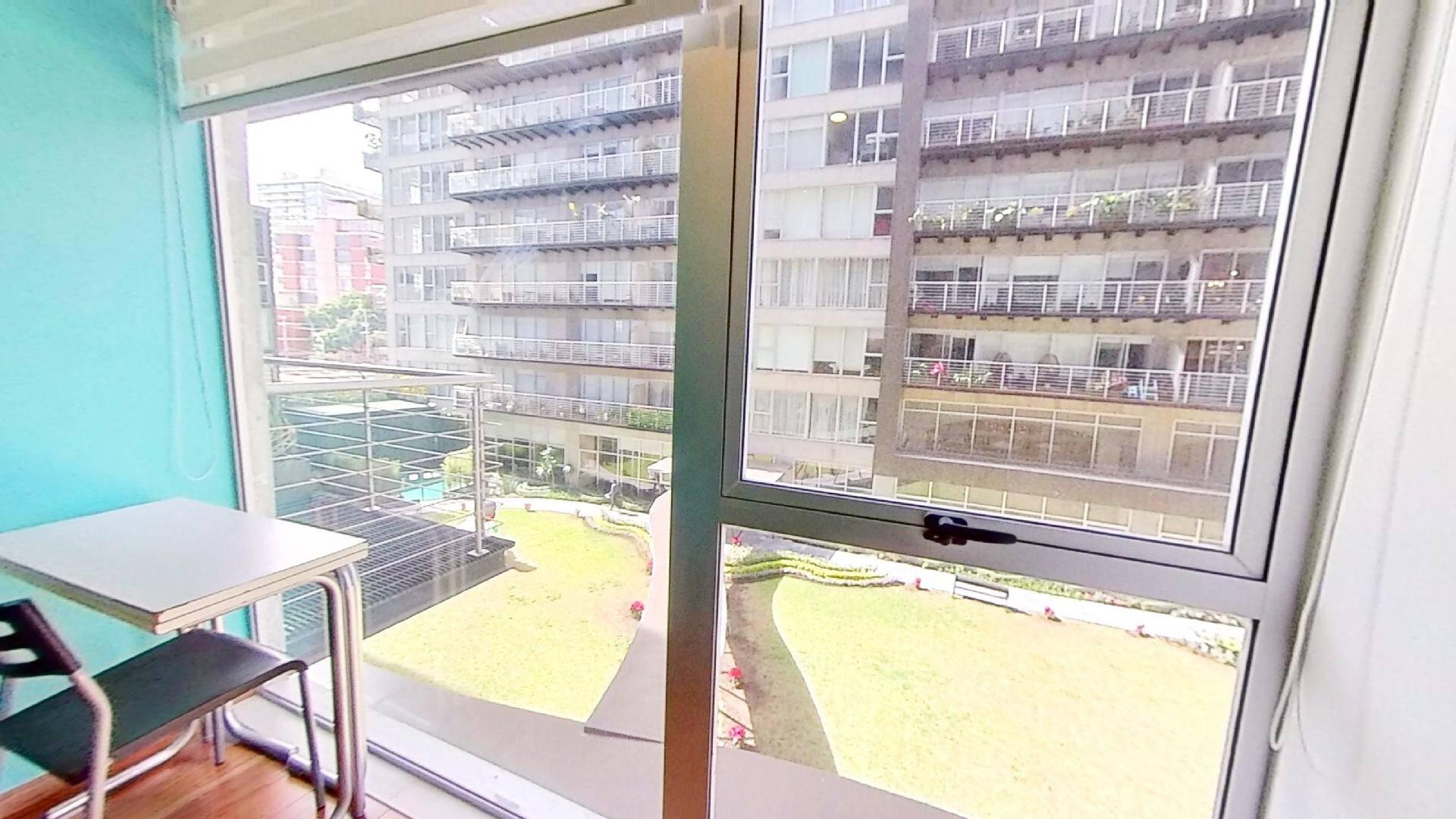 Venta departamento de 3 recámaras en City Towers Green, Colonia Santa Cruz. Ventana Recámara 2