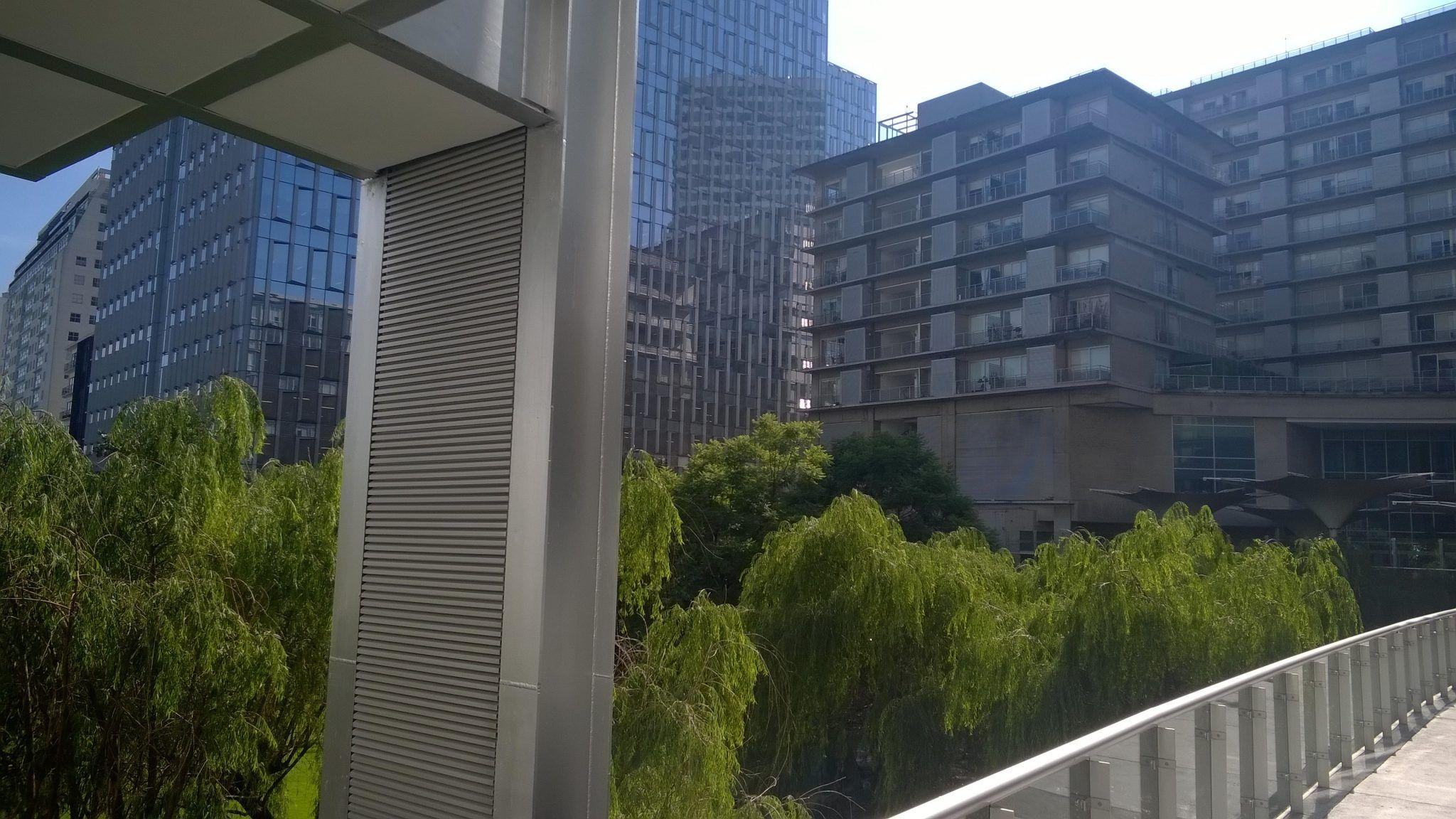 Departamento en Venta en Parques Polanco. 2 Recámaras y dos terrazas. Vista edificio