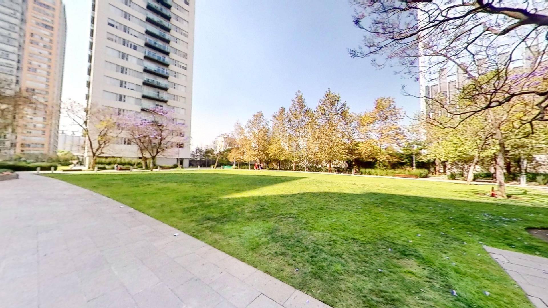 Departamento 2 recámaras en venta en Torre Central de Parques Polanco. Area común