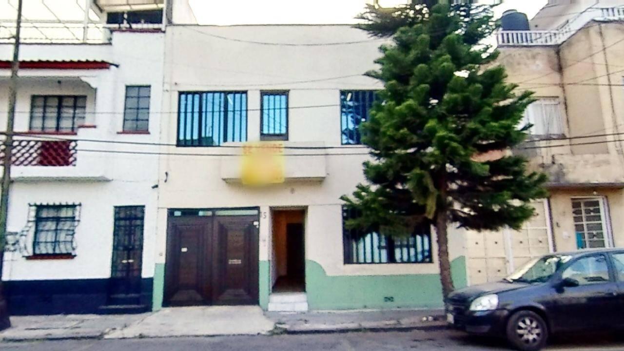 Casa en venta en la Colonia Roma Sur, Alcaldía Cuauhtémoc, CDMX. Vista de Frente